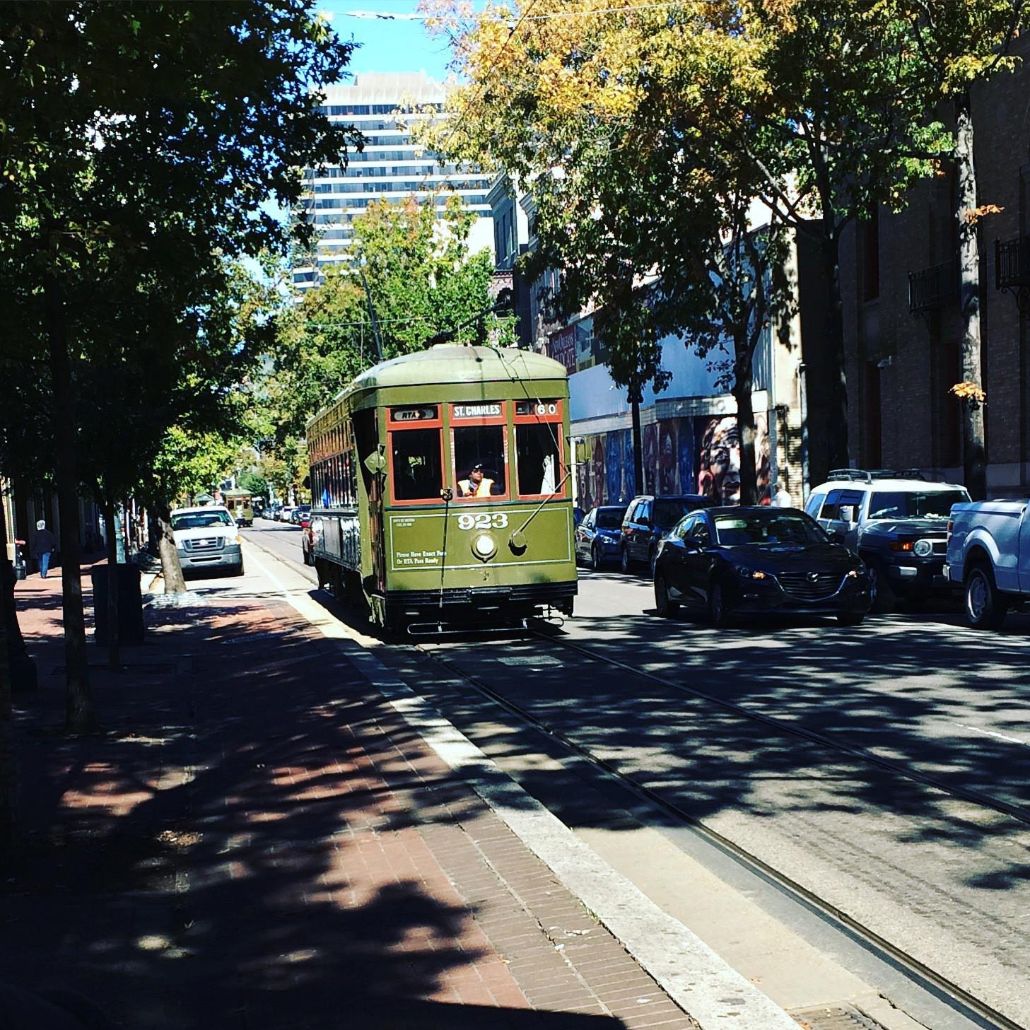 St. Charles Line streetcar