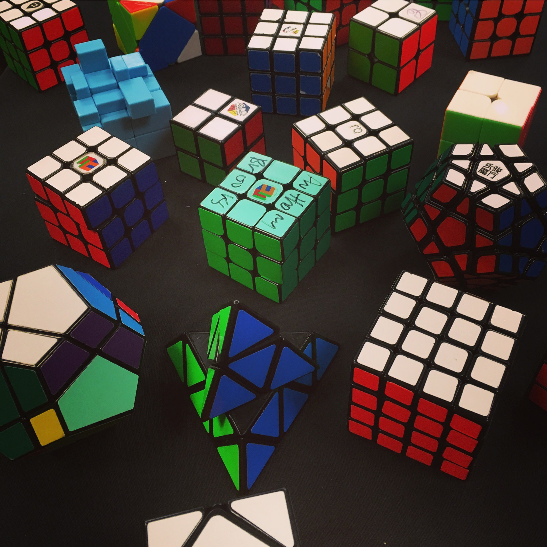 Table of cubes