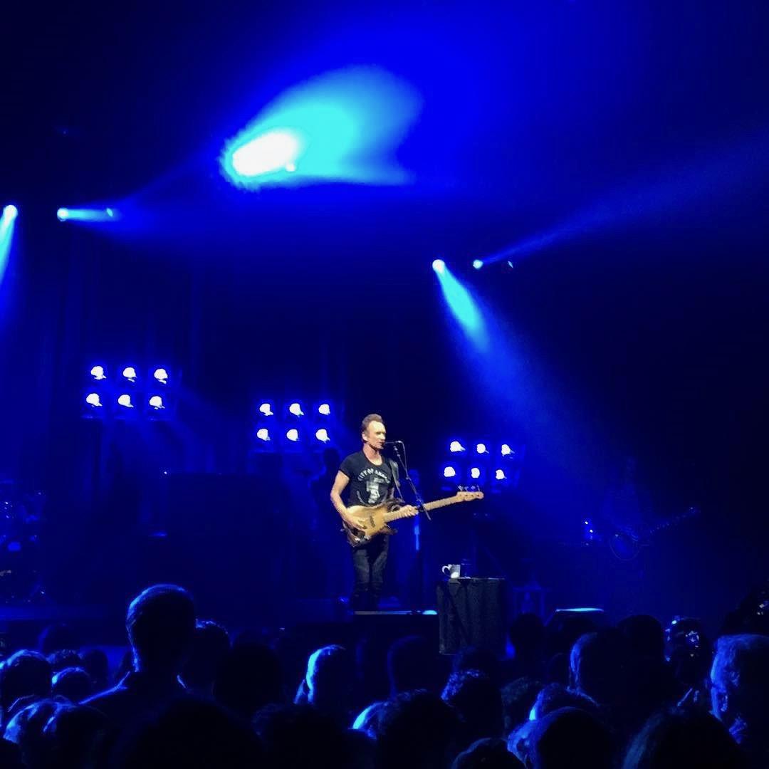 Last week's Sting concert