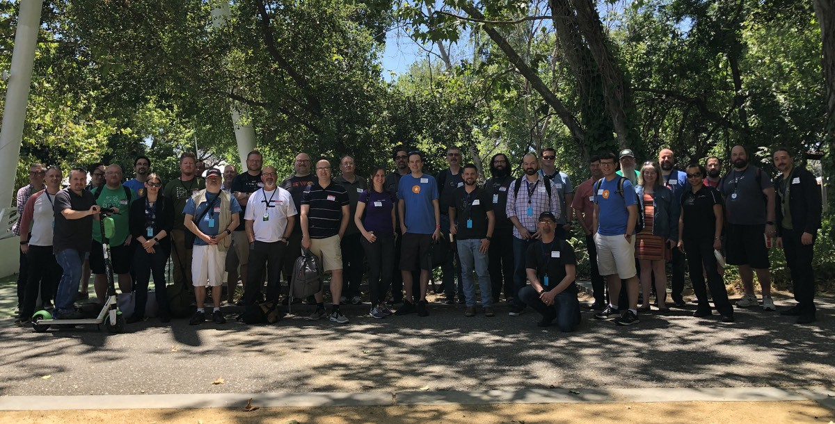 Photo of Micro.blog meetup attendees at WWDC